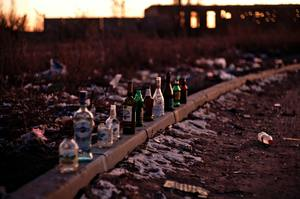 empty bottles of alcohol littler the street. For addicts, they also litter and destroy relationships, jobs, and the self. These classes give you more tools to help addicts you counsel with drugs, alcohol and more.